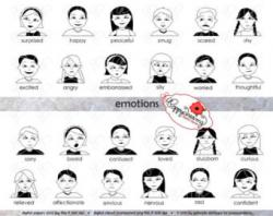 Emotions clipart kindergarten