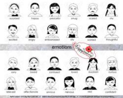 Emotions clipart kindergarten