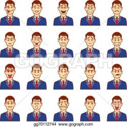 Emotions clipart male