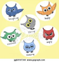 Emotions clipart owl