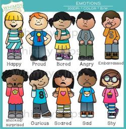 Emotions clipart preschool