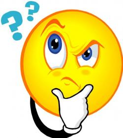 Question Mark clipart concerned