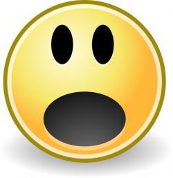 Scary clipart emoji
