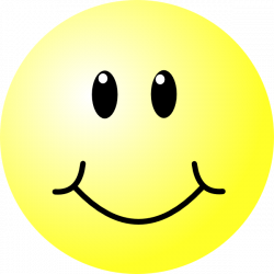 Smiley clipart excited face