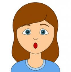Feeling clipart surprised