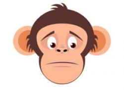 Monk clipart sad