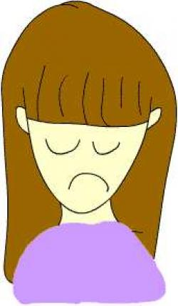 Emotions clipart upset