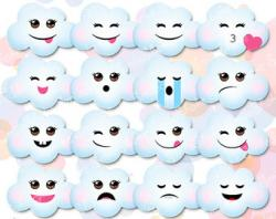 Emotions clipart weather