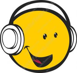 Headphone clipart emoticon