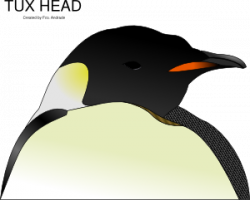 Emperor Penguin clipart penguin head