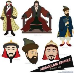 Mongolian clipart cartoon