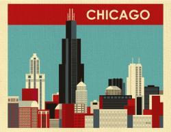Empire clipart chicago skyline