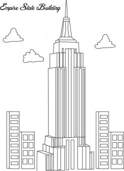 Empire clipart city line