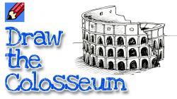 Colosseum clipart roman soldier