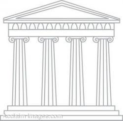 Greek clipart greek architecture