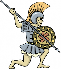 Warrior clipart