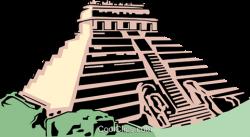 Ruin clipart mayan temple