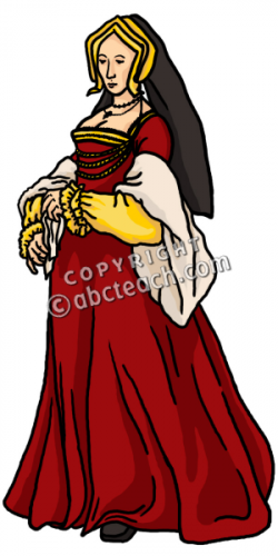 History clipart medieval person
