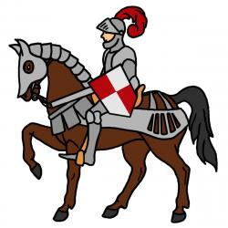 Renaissance clipart knight jousting