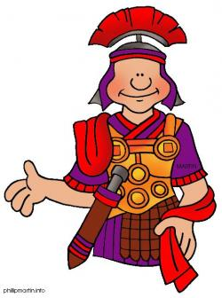 Roman Warriors clipart augustus caesar