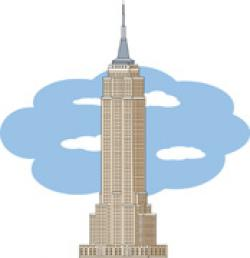 Empire clipart new york building