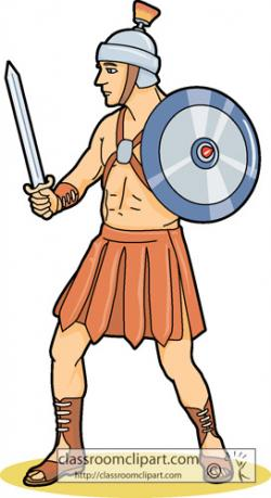 Gladiator clipart colosseum