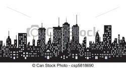 Skyscraper clipart urban