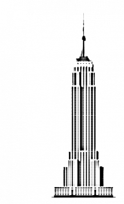 Skyscraper clipart empire state building