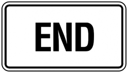 End clipart