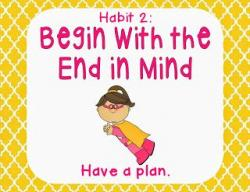 End clipart 7 habit