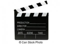 End clipart film director