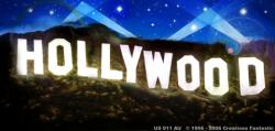 End clipart hollywood sign