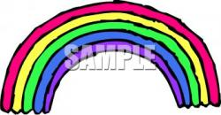 End clipart leprechaun rainbow