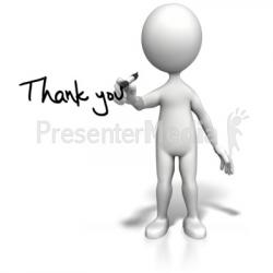 End clipart presentation