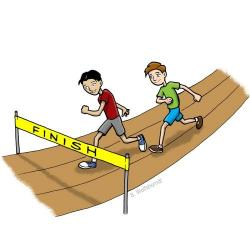 Race clipart sports day