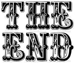 End clipart thee
