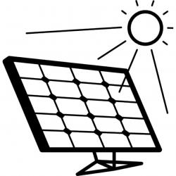 Panels clipart black and white