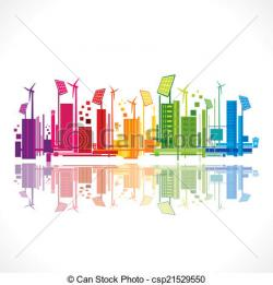 Energy clipart colorful