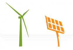 Panels clipart clean energy