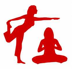 Leisure clipart yoga