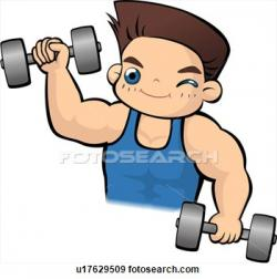 Energy clipart healthy person