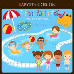 Energy clipart pool party