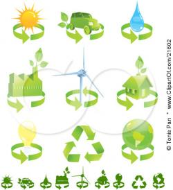Wind Turbine clipart renewable resource
