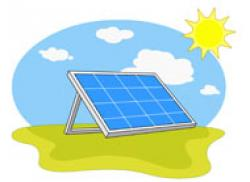 Panels clipart renewable energy