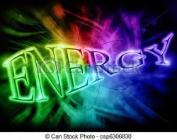 Energy clipart the word