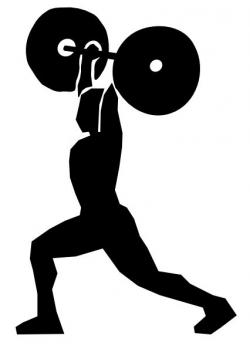 Olympic Games clipart weight training