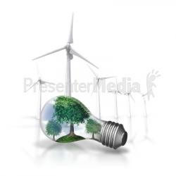 Wind Turbine clipart animated
