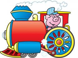 Engine clipart animated train