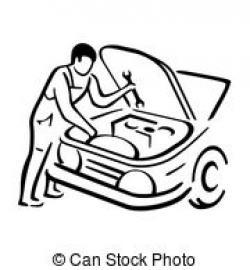 Engine clipart auto mechanic