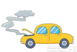 No Smoking clipart car